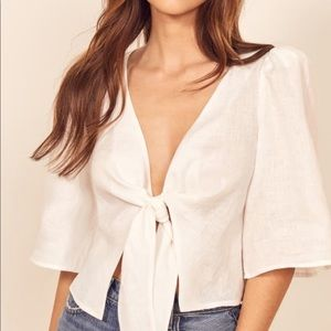 Reformation brand new Lucia top!